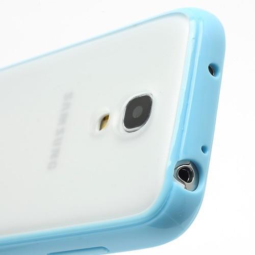 Силиконовый чехол для Samsung Galaxy S4 mini Crystal and Blue