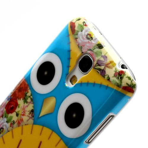 Кейс чехол для Samsung Galaxy S4 mini  Owl