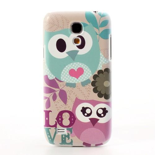 Кейс чехол для Samsung Galaxy S4 mini  Owl Fancy