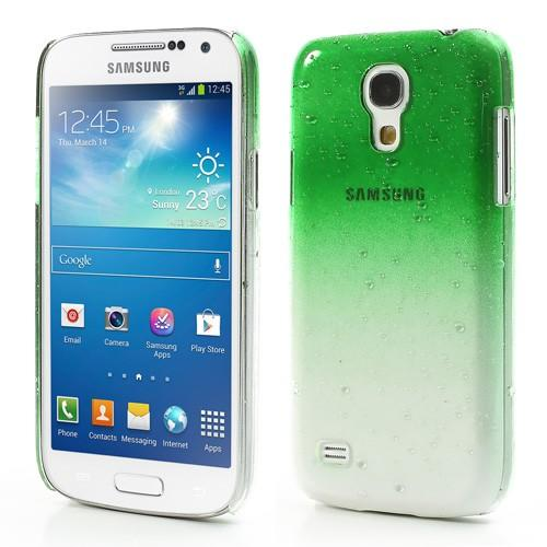 Кейс чехол для Samsung Galaxy S4 mini Transpanent Green