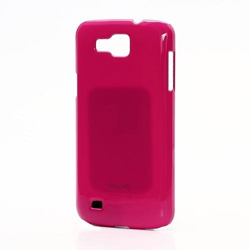 Кейс чехол для Samsung Galaxy Premier розовый