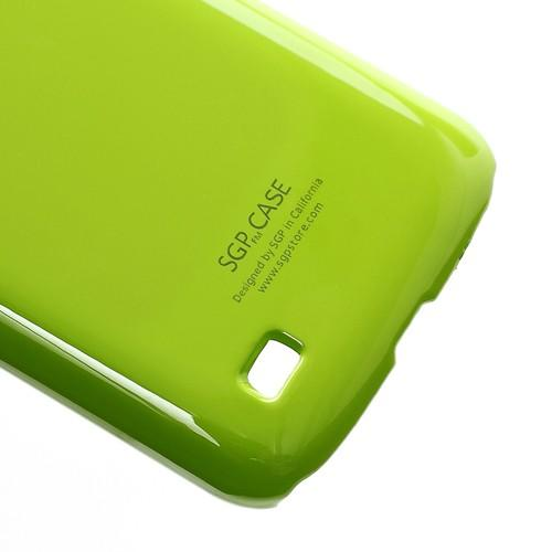 Кейс чехол для Samsung Galaxy Premier зеленый