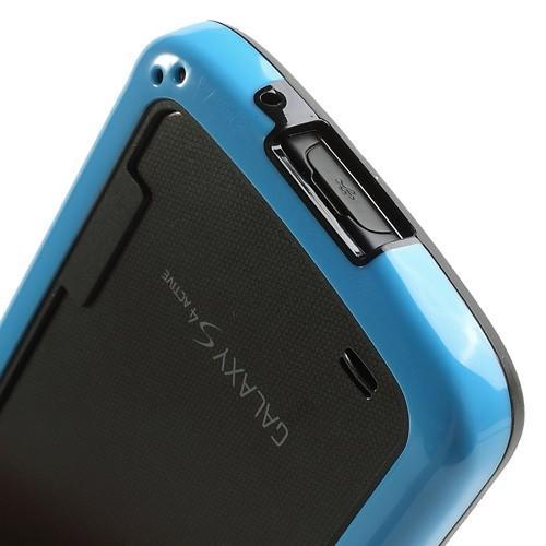 Силиконовый бампер для Samsung Galaxy S4 Active черный