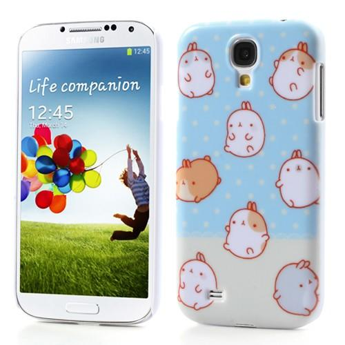 Кейс чехол для Samsung Galaxy S4 Polka Dot Rabbit