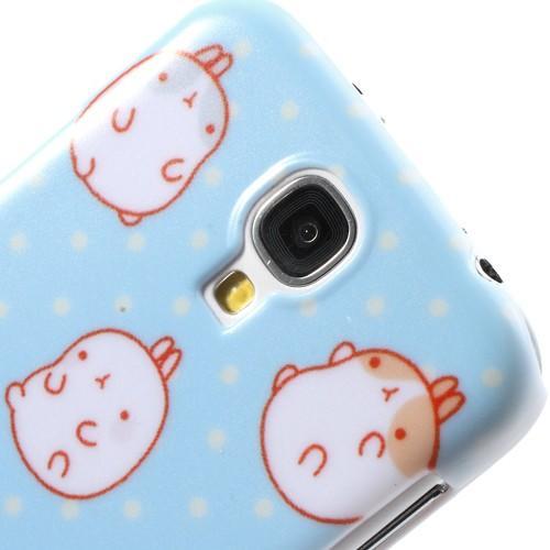 Кейс чехол для Samsung Galaxy S4 Polka Dot Rabbit