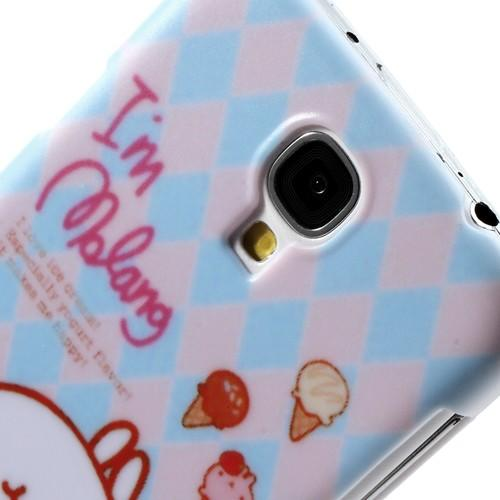 Кейс чехол для Samsung Galaxy S4 Ice Cream Rabbit