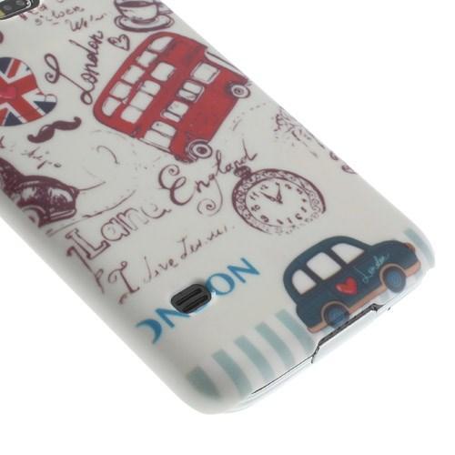 Кейс для Samsung Galaxy S5 орнамент Лондон