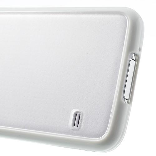Силиконовый чехол для Samsung Galaxy S5 Crystal&White