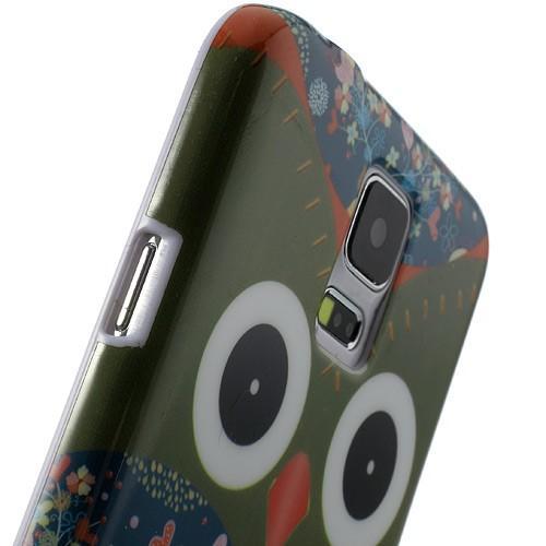 Кейс для Samsung Galaxy S5 Red Owl