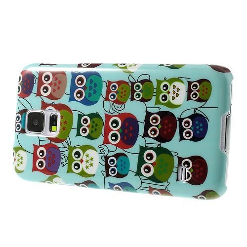 Кейс для Samsung Galaxy S5 Happy Owls