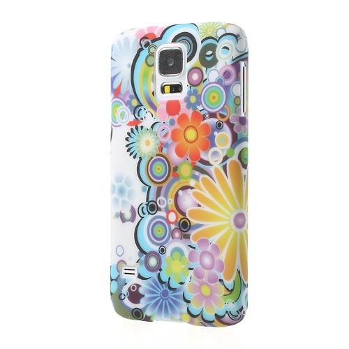 Кейс для Samsung Galaxy S5 Colorful Flowers