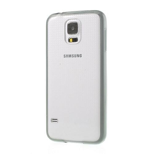 Силиконовый чехол для Samsung Galaxy S5 Crystal&Black