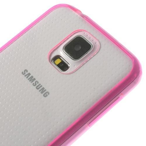 Силиконовый чехол для Samsung Galaxy S5 Crystal&Rose
