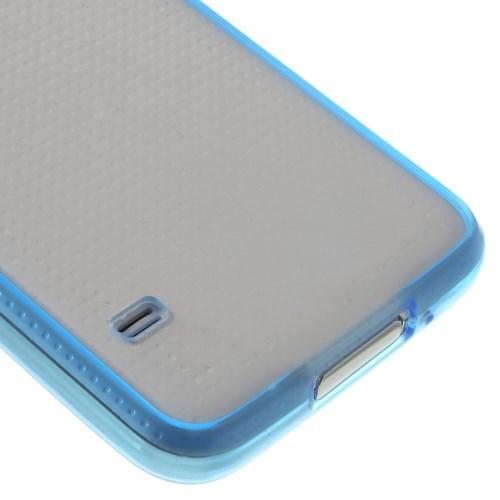 Силиконовый чехол для Samsung Galaxy S5 Crystal&Blue