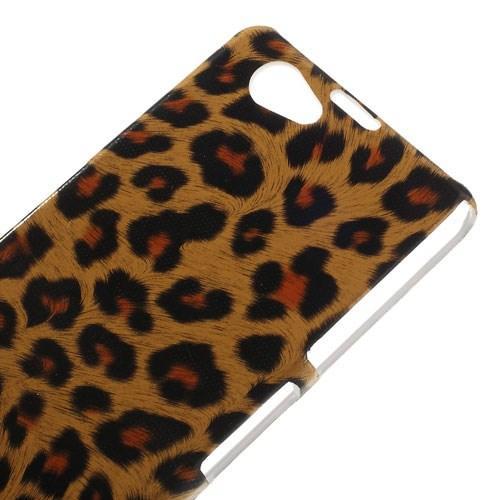 Кейс чехол для Sony Xperia Z1 Compact Leopard
