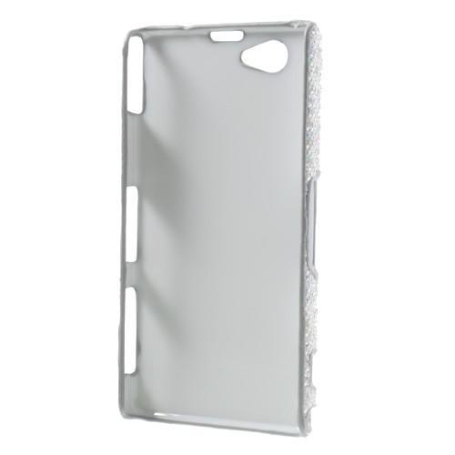 Кейс чехол для Sony Xperia Z1 Compact серебро