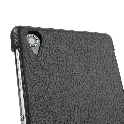 Flip чехол книжка для Sony Xperia Z1 черный