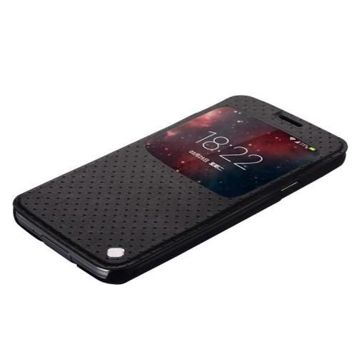 Baseus Finder чехол с умным окном для Samsung Galaxy S5 черный