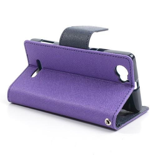 Flip чехол для Sony Xperia M фиолетовый