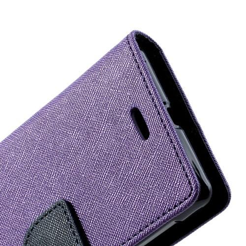 Flip чехол книжка для Sony Xperia L Purple