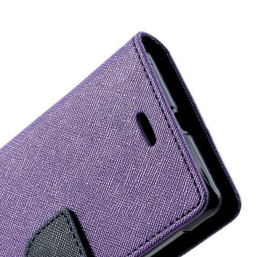 Flip чехол книжка для Sony Xperia L Purple