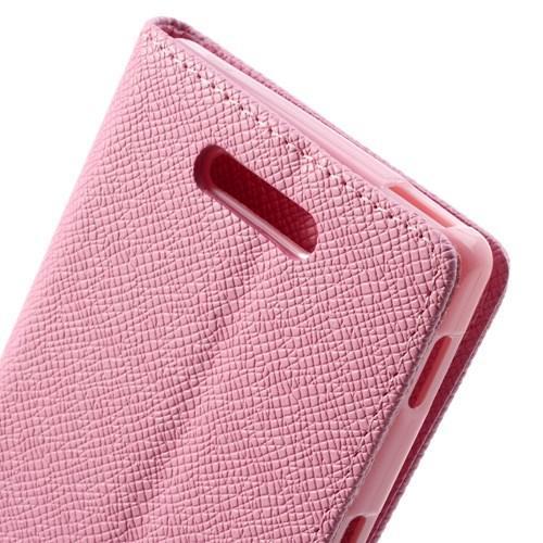 Flip чехол книжка для Sony Xperia C розовый