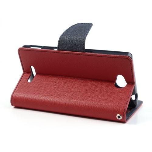 Flip чехол книжка для Sony Xperia C красный Mercury