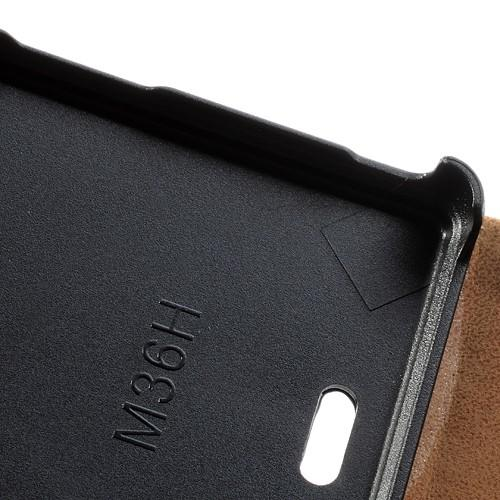 Flip чехол для Sony Xperia ZR черный