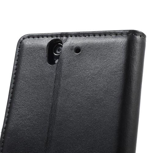 Flip чехол книжка для Sony Xperia Z черный