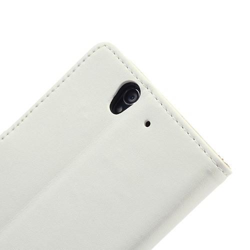 Flip чехол книжка для Sony Xperia Z белый