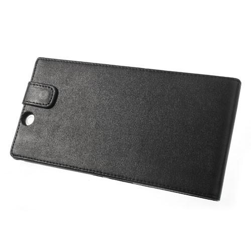 Кожаный чехол книжка для Sony Xperia Z Ultra