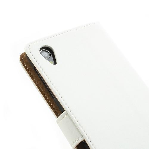 Flip чехол книжка для Sony Xperia Z1 белый