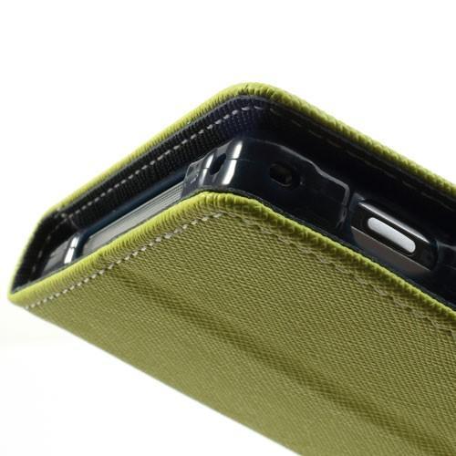 Flip чехол для Sony Xperia Z1 зеленый