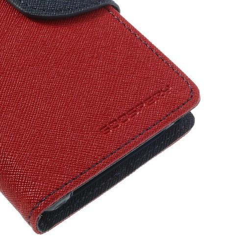 Чехол книжка для Sony Xperia Z1 Compact Red