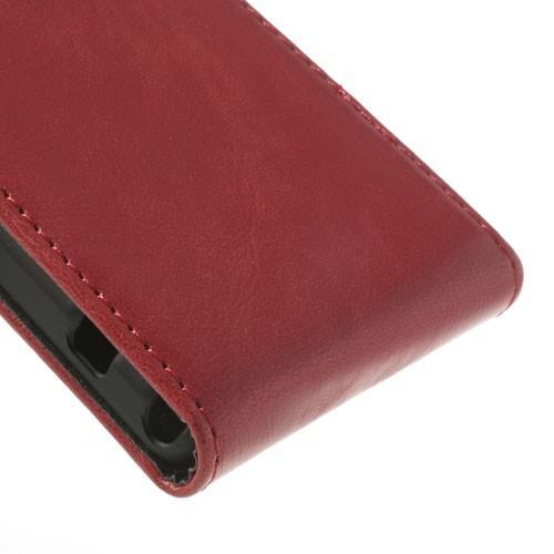 Flip чехол книжка для Sony Xperia Z1 Compact красный