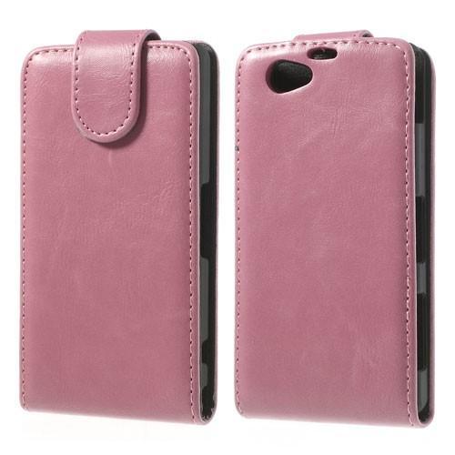Flip чехол книжка для Sony Xperia Z1 Compact розовый