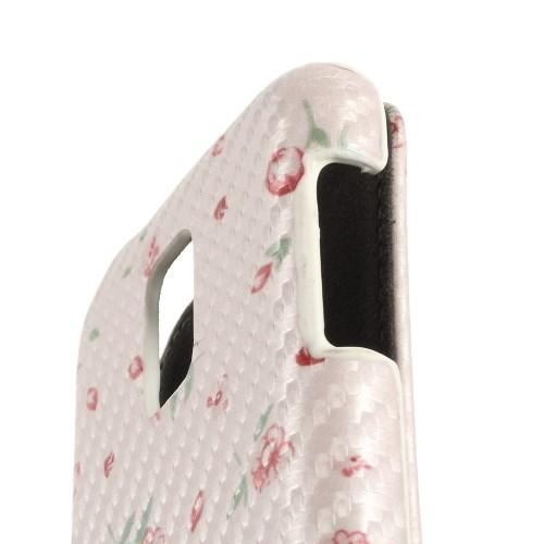 Чехол Down Flip для Samsung Galaxy S5 mini Rose Flower Pattern