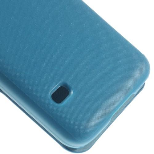 Flip чехол для Samsung Galaxy S5 mini голубой