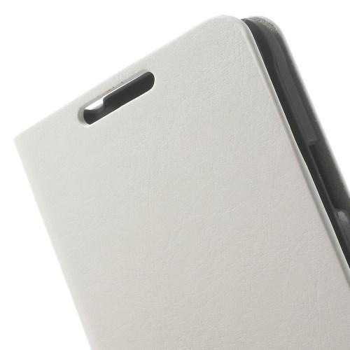 Чехол книжка для Samsung Galaxy Alpha белый
