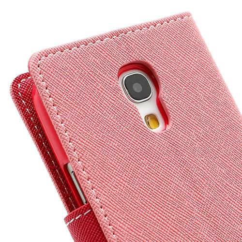 Flip чехол книжка для Samsung Galaxy S4 mini розовый