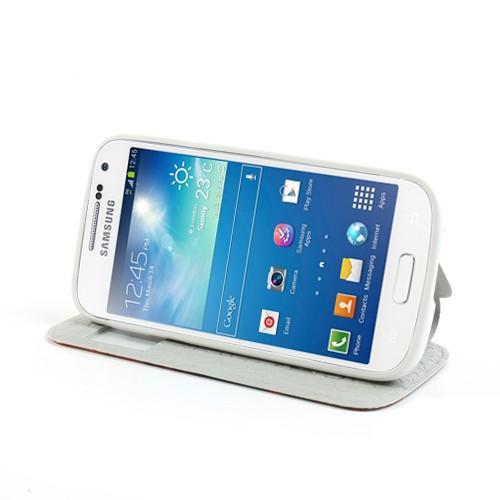 Flip чехол книжка для Samsung Galaxy S4 mini Rose Flowers