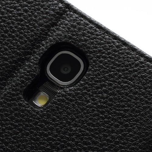 Flip чехол для Samsung Galaxy Mega 6.3 черный