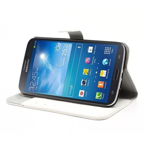Flip чехол книжка для Samsung Galaxy Mega 6.3 белый