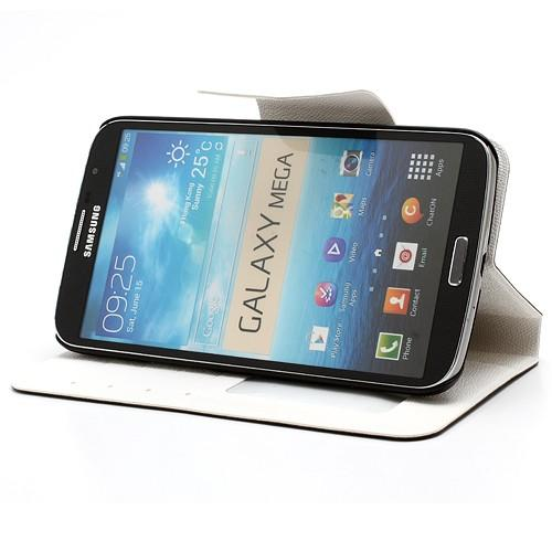Flip чехол для Samsung Galaxy Mega 6.3 серый