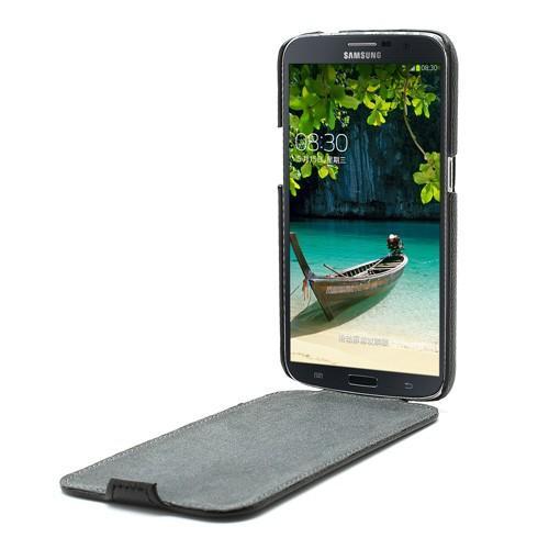 Чехол книжка Down Flip для Samsung Galaxy Mega 6.3 черный