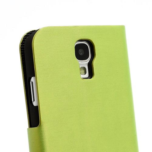 Flip чехол книжка для Samsung Galaxy S4 зеленый