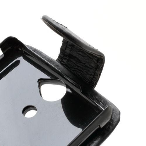 Кожаный чехол для Sony Xperia V черный