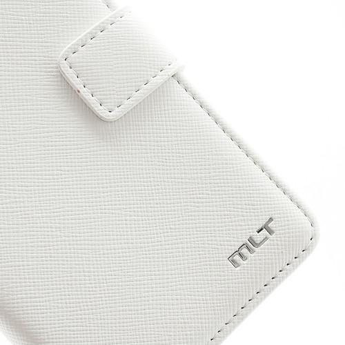 Кожаный чехол книжка для Sony Xperia TX белый
