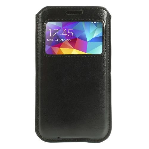 Чехол-футляр для Samsung Galaxy S5 черный