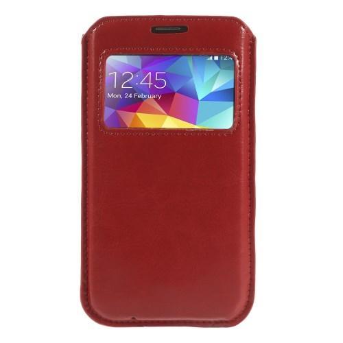 Чехол-футляр для Samsung Galaxy S5 красный